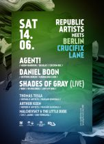14.06 | House a techno party Republic Artists meets Berlin