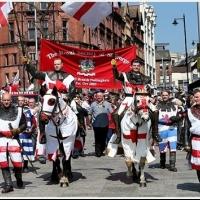 Oslava dňa svätého Juraja na Trafalgar Square
