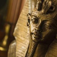 Výstava Tutanchamóna v Londýne